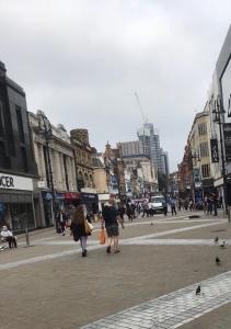 Leeds Yorkshire town centre 2020