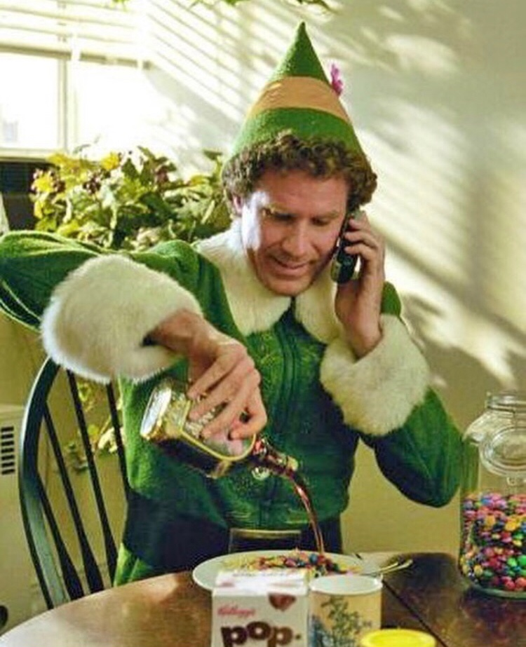 Elf the movie Will Ferrell