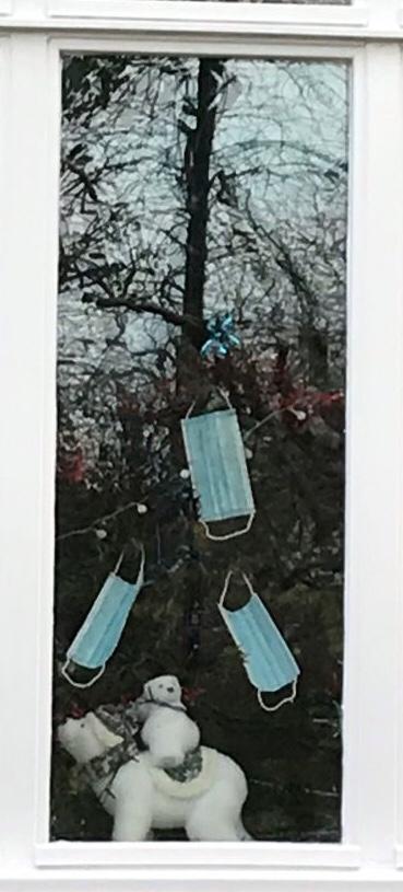 Covid Christmas 2020 tree